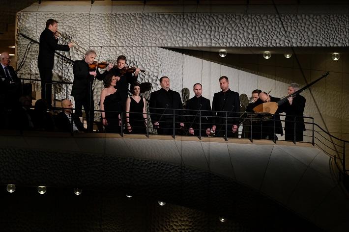 Otvárací koncert Elbphilharmonie Hamburg, 2016, Ensemble Praetorius foto: Michael Zapf
