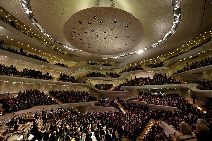 Otvárací koncert Elbphilharmonie Hamburg, 2016, foto: Michael Zapf