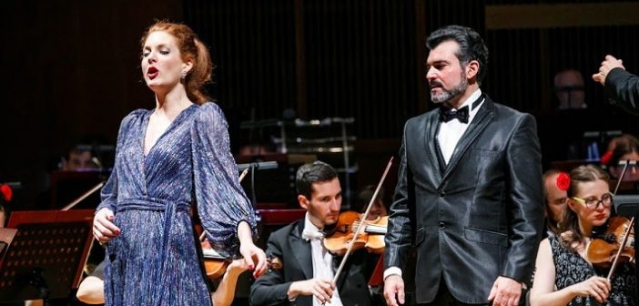 Bizetova Carmen na koncertom pódiu Domu umenia v Košiciach