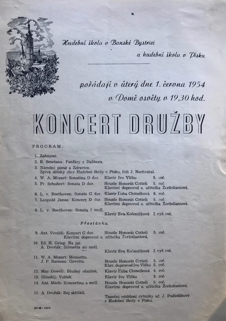 Exkurz do dejín hudobného života Banskej Bystrice