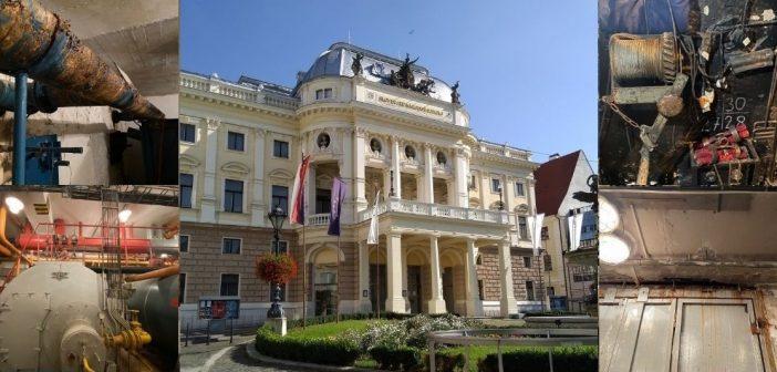 Havarijný stav historickej budovy SND vedie k jej uzatvoreniu pre divadelnú prevádzku
